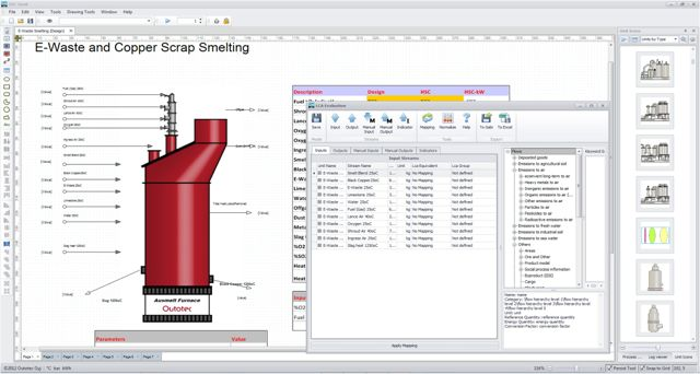 Hsc chemistry software for process simulation reactions equations hsc chemistry software for process simulation reactions equations heat and material balances heat loss calculator equilibrium calculations ccuart Choice Image